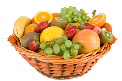 why are fruits and vegetables healthy send a fruit basket