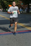 Alex finishing a 10 mile race in Lynchburg, VA