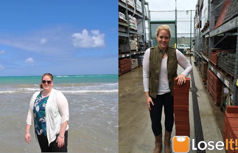 Jennifer Before & After