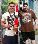 Kevan lost TK pounds