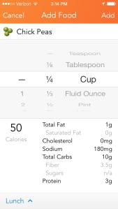 New Nutrient  UI