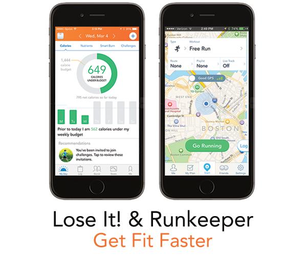 Lose It! Runkeeper