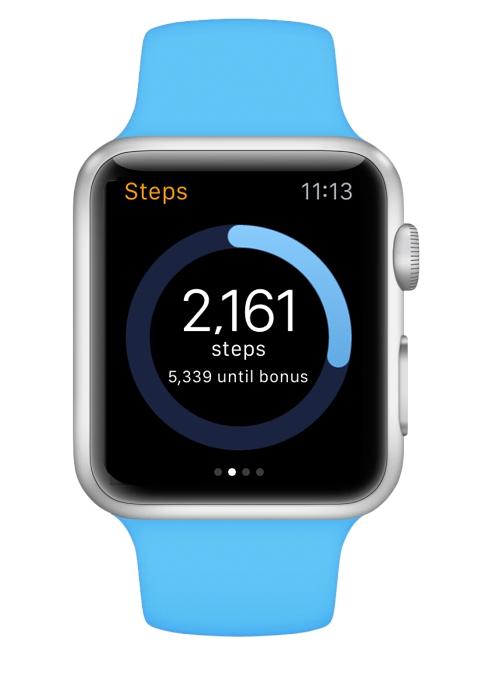 Steps Until Bonus